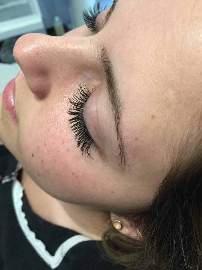 glam eyelash extensions